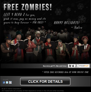 Free Zombies, Free Left4Dead2
